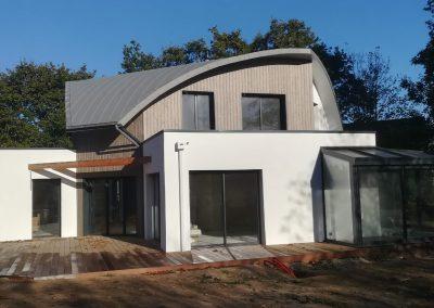 maison ossature bois style moderne