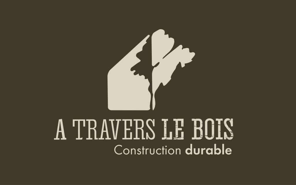 Logo A travers le bois - constructeur de maison bois en Loire Atlantique